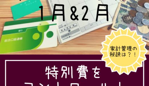 【家計やりくり】生活費を減らすいろんな技~1&2月家計簿公開~